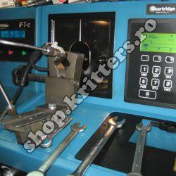 Reparații injectoare Delphi: banc de probă profesional Hartridge, omologat de producător