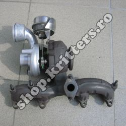 Turbo VW Transporter V 1.9 TDI 85 CP, 2003-2009, 54399880020 / 038253014H / 038253010C / 54399700020 / 038253019J / 5439 988 002