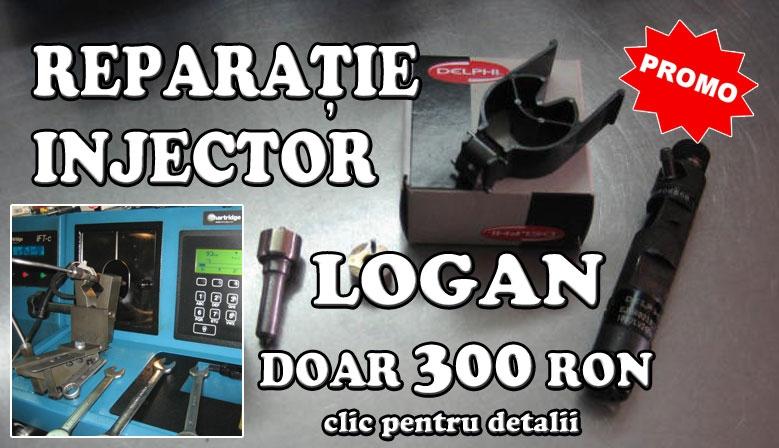 Reparații injectoare Logan la numai 300 RON