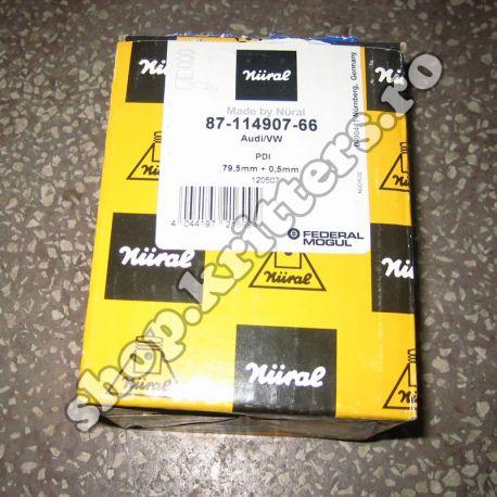 Piston VW Audi 1.9 TDI, 100-105 CP, 2000-2010, 87-114907-66 (Cilindrii 3 și 4)
