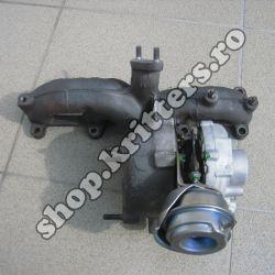 Turbo VW Audi 1.9 TDI 110 CP, după 1997, 038253019A / 03G253016K / 454232-0001 / 768329-5001S / 454232-0004