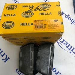 Lampă număr de inmatriculare Hella 9BG121587-031
