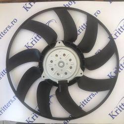 Ventilator radiator Audi A4 A5 A6 A7 Q5 120-333CP 2007-2018, 8EW351044-351 / 8K0959455C / 8K0959455G / 8K0959455K / 8K0959455T