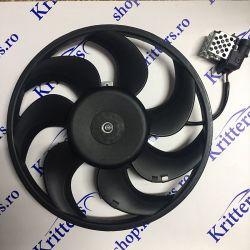 Ventilator Opel Astra G, H, Zafira, 65-241 CP 1998-2015 8EW351044-061 13147278 / 134129 / 134132 / 1341344 / 1341345 / 1341347