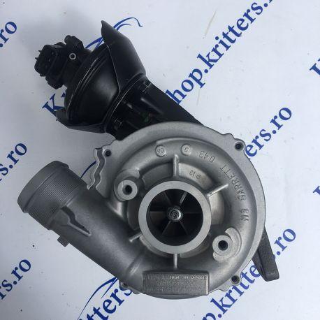 Turbo Ford, Volvo 2.0 TDCi 110-140, CP 2003-2015, 753847-0002 / 127229 / 1590093 / 170618 / 3M5Q-6K682-BA / 3M5Q-6K682-BB