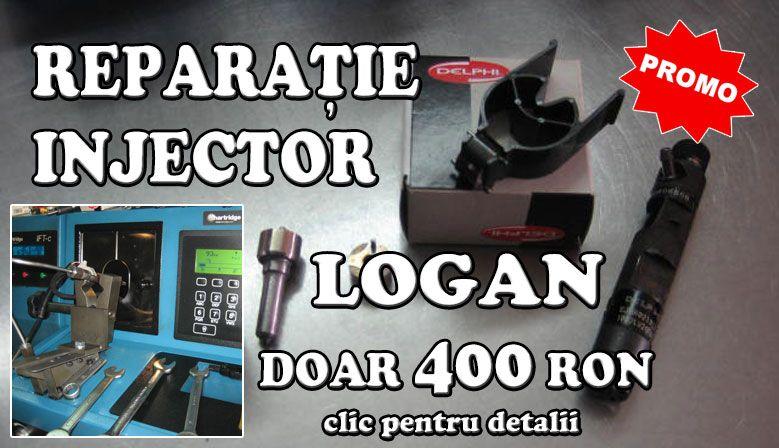 Reparații injectoare Logan la numai 400 RON