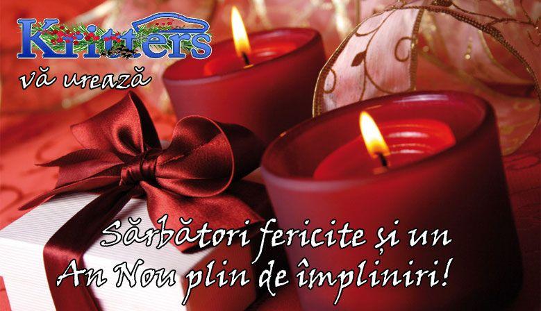 Kritters vă urează sărbători fericite și un An Nou plin de împliniri!